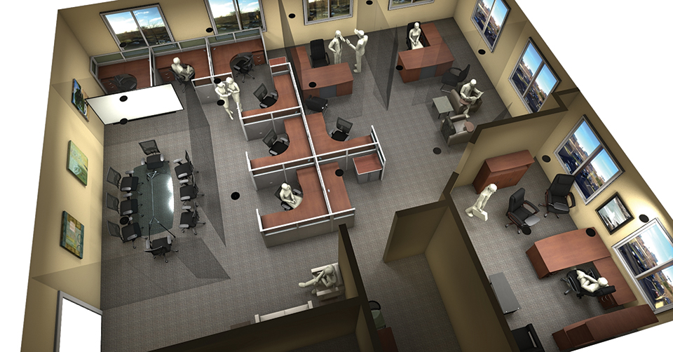 Office Furniture Space Planning & Design