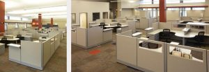 Remanufactured office furnitured