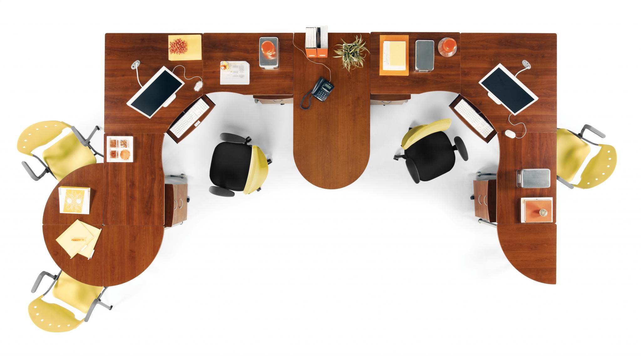 Collaborative office desks