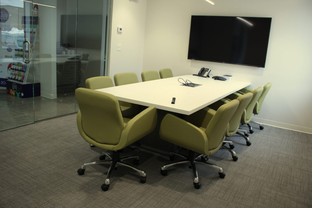 Global Conference Table with Globale Kate Conference Chairs