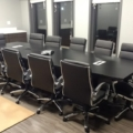 Global Zira Conference Table and Office to Go Conference Chairs