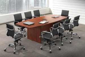 Laminate_Boat_Shape_Conference_Table