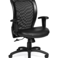 OTG_Leather_Seat_Mesh_Back_Chair