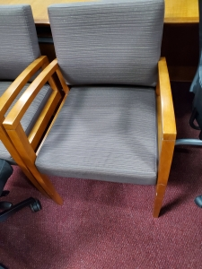 Cherry Wood Arm Guest Chair