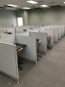 Haworth Workstations Call Center Cubicles