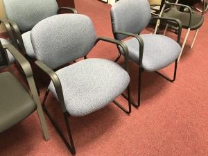 Blue Hon Guest Chair