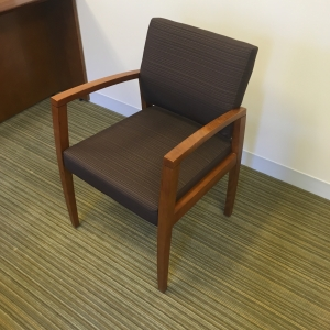 Wood Arm Guest Chair