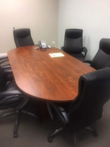 Cherry 8 Foot Conference Table