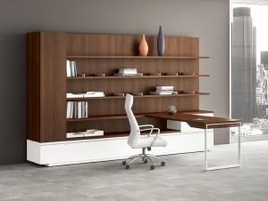 JSI Apogee L Shape Desk Set
