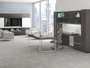 JSI Apogee Executive Table Desk Set