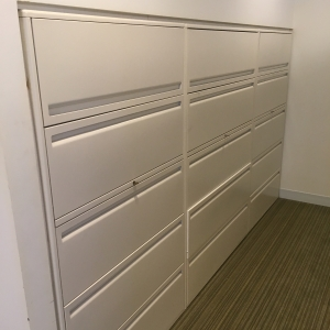 Used 5 drawer lateral file