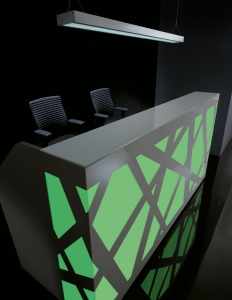 Zig Zag Color Changing Reception