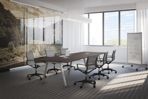Conference Table with V Legs