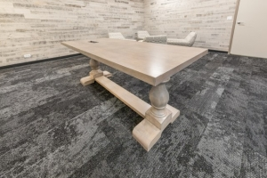 Custom solid wood traditional table