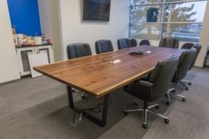 Live edge table 2