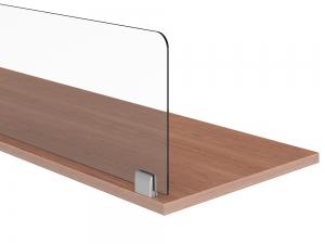 Desk mount divider